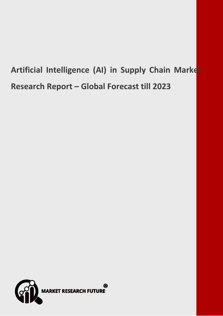 artificial intelligence ai in supply chain market n.