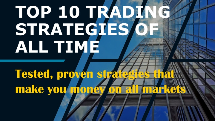top 10 trading strategies of all time n.