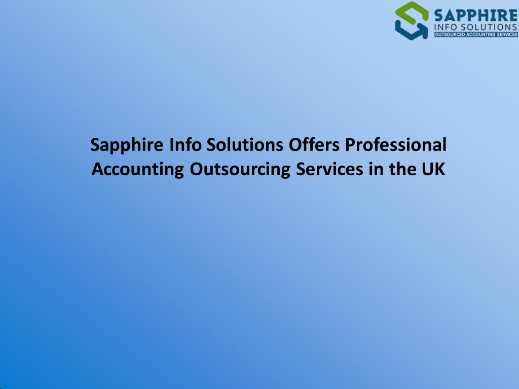 sapphire info solutions offers professional l.