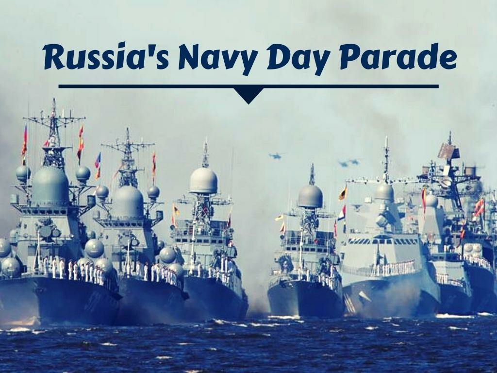 russia s navy day parade l.