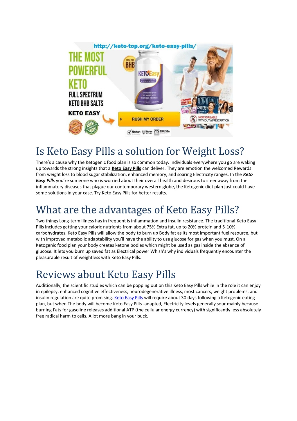 is keto easy pills a solution for weight loss l.