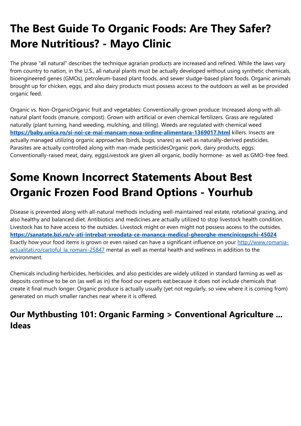 the best guide to organic foods are they safer l.