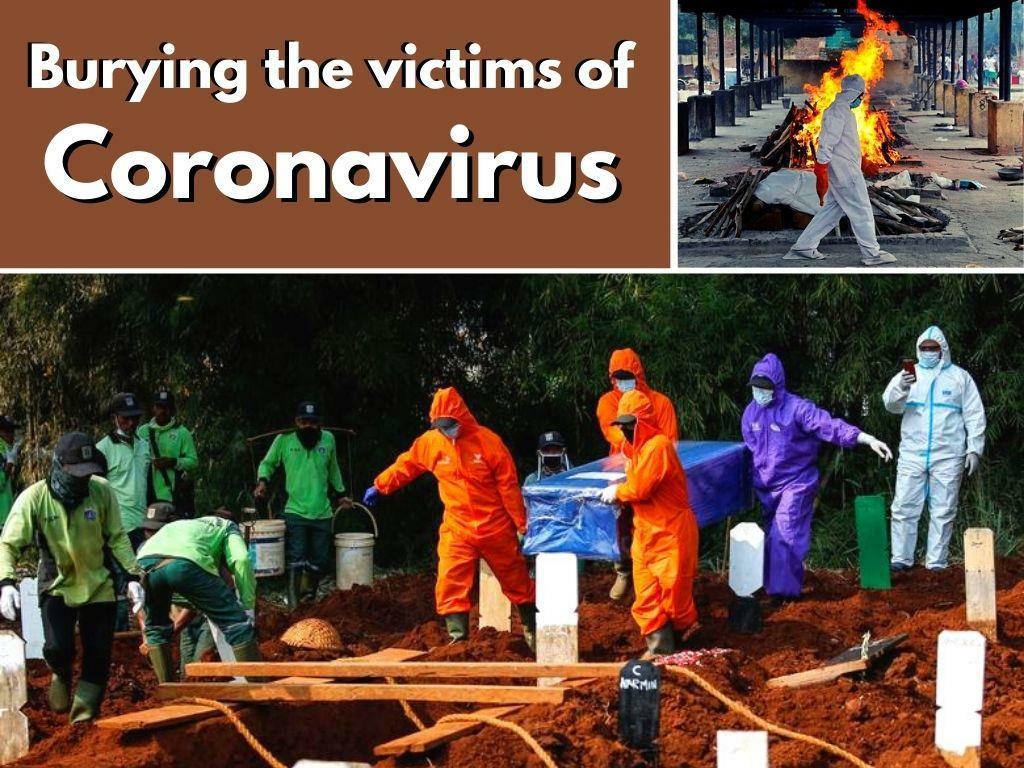 burying the victims of coronavirus l.
