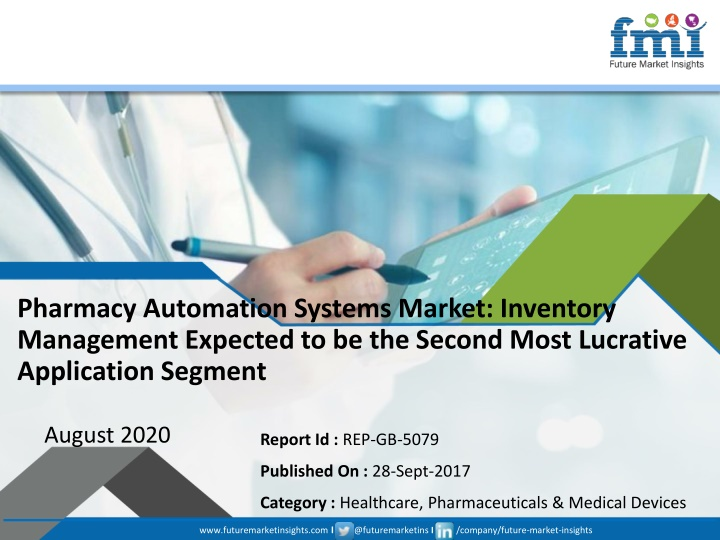 pharmacy automation systems market inventory n.