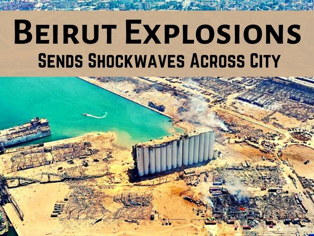 massive blast in beirut sends shockwaves across city l.