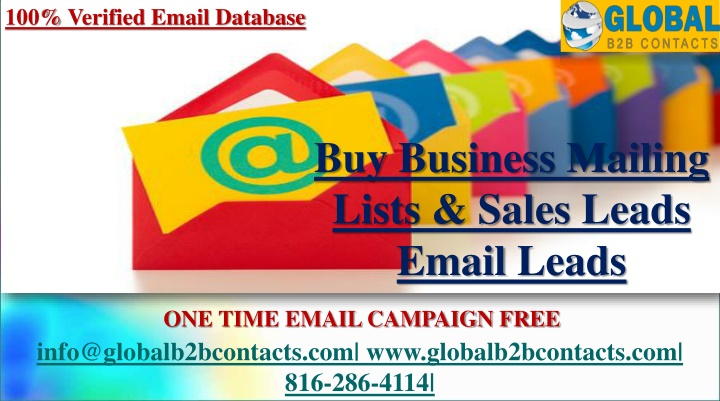 100 verified email database n.