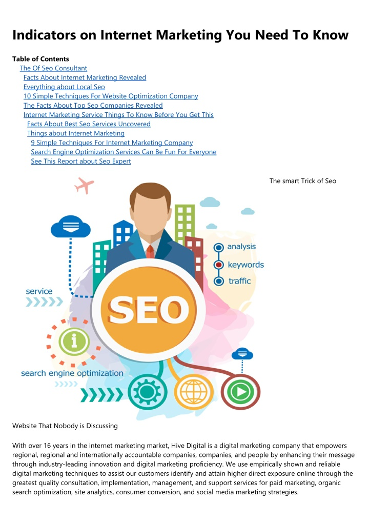 indicators on internet marketing you need to know n.