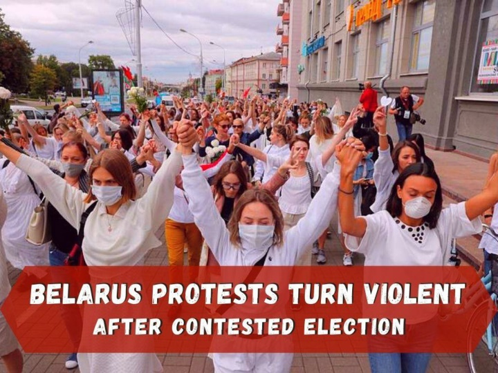 street protests in belarus after contested election n.