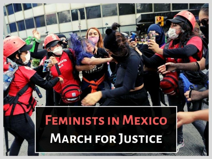mexico s women protest gender violence n.