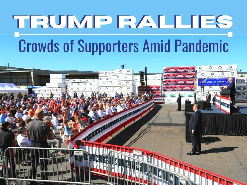 trump rallies crowds of supporters amid pandemic l.