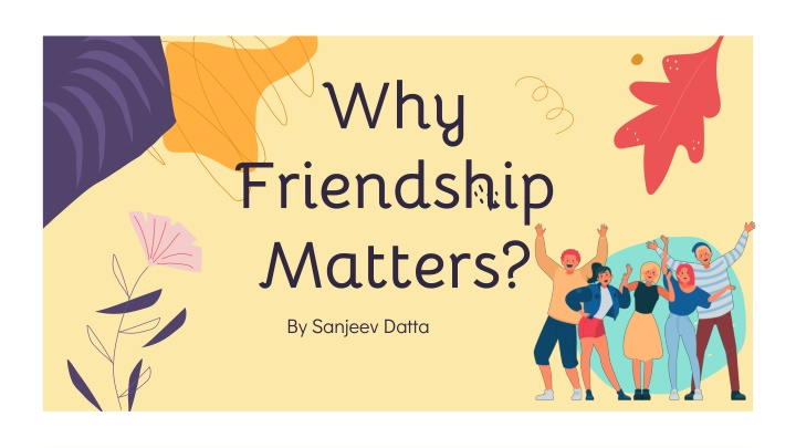 why friendship matters n.