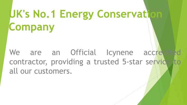 uk s no 1 energy conservation company n.