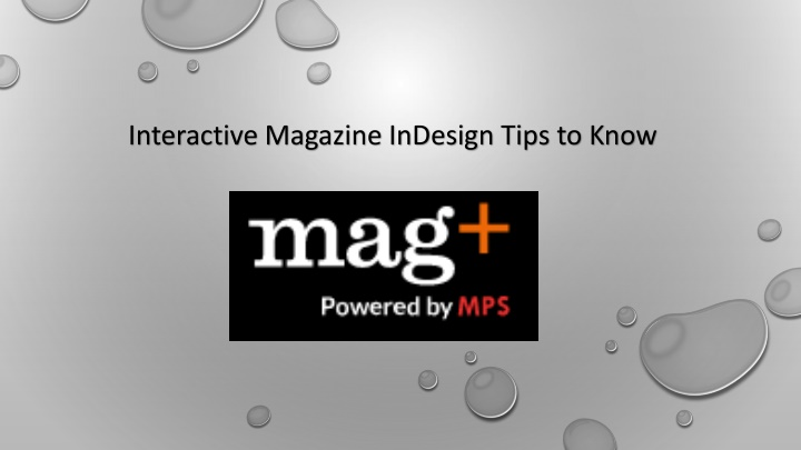 interactive magazine indesign tips to know n.
