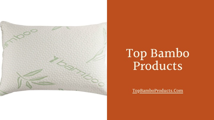 top bambo products n.