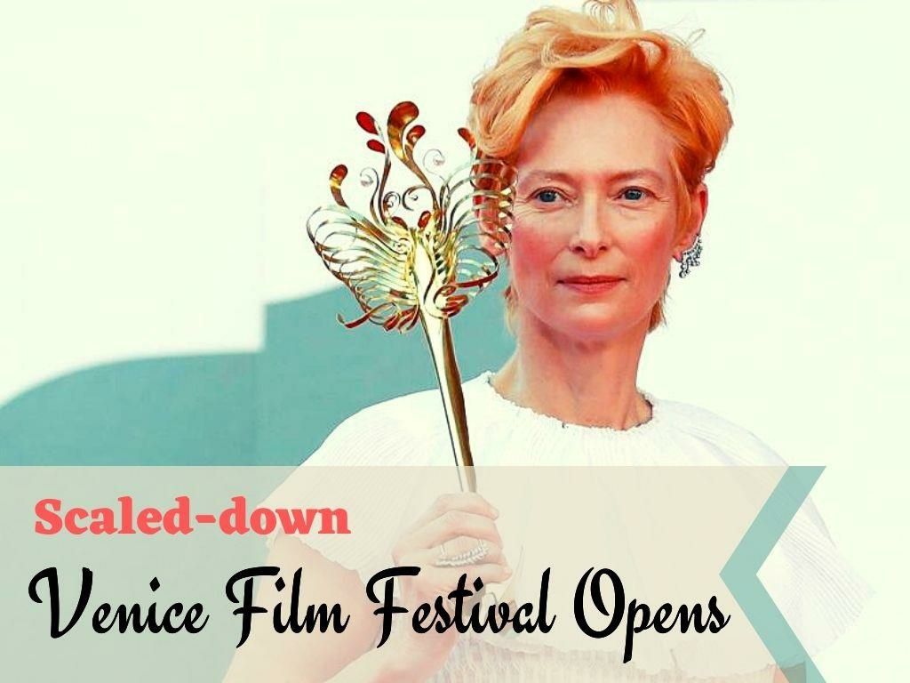 scaled down venice film festival opens l.