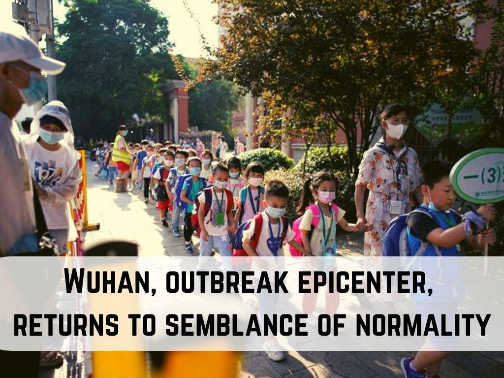 wuhan outbreak epicenter returns to semblance of normality l.