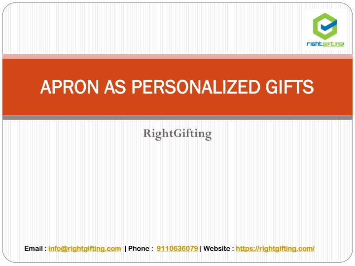 apron as personalized gifts n.