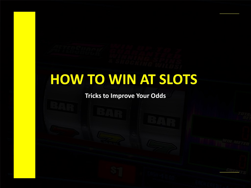 How to Win Online Slots?