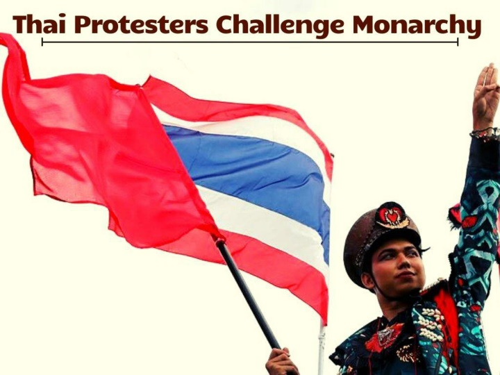thai protesters challenge monarchy n.