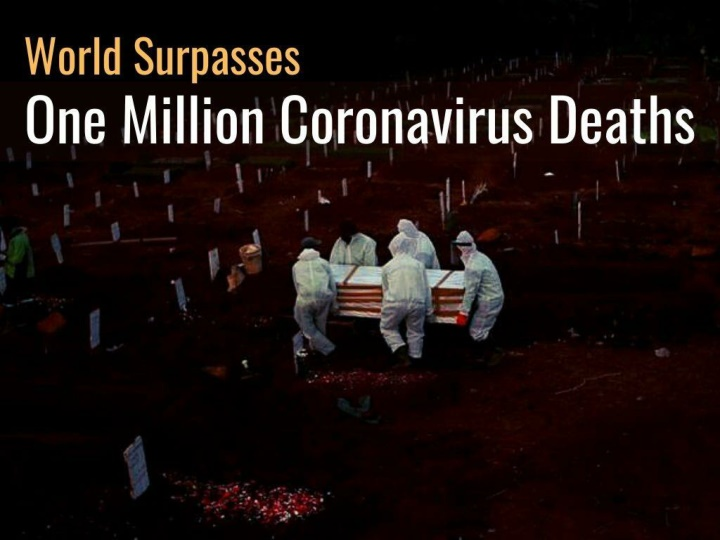 world surpasses one million coronavirus deaths n.