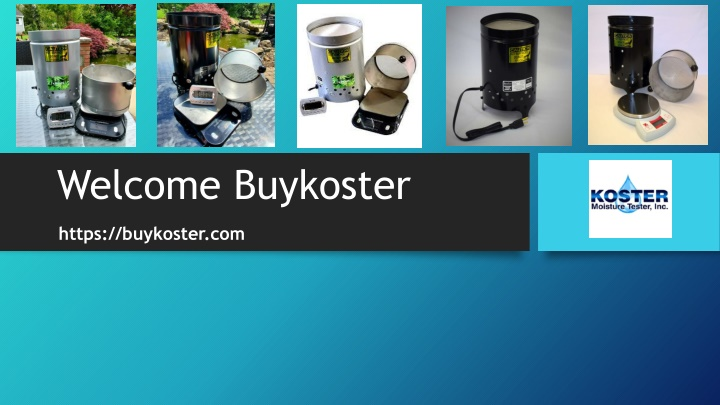 welcome buykoster n.