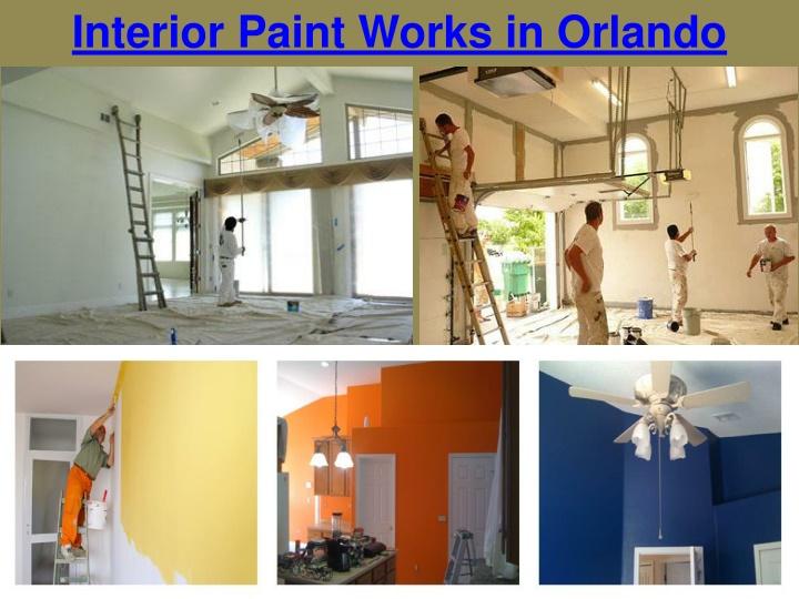 interior paint works in orlando n.