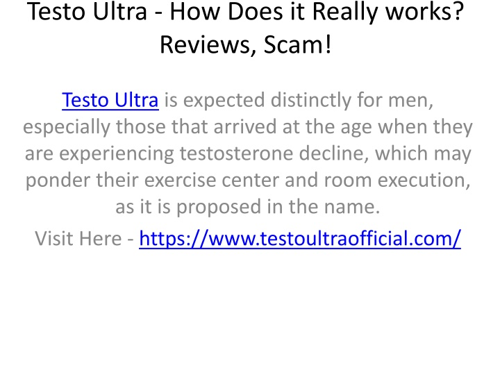 testo ultra how does it really works reviews scam n.