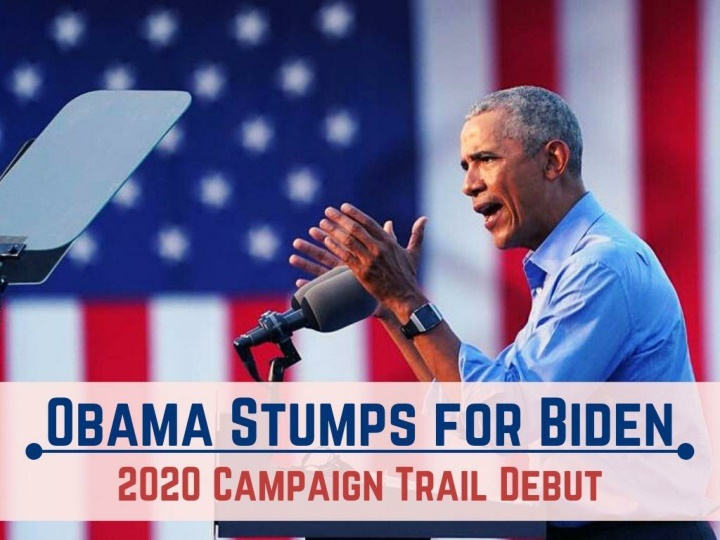 obama stumps for biden in 2020 campaign trail debut n.