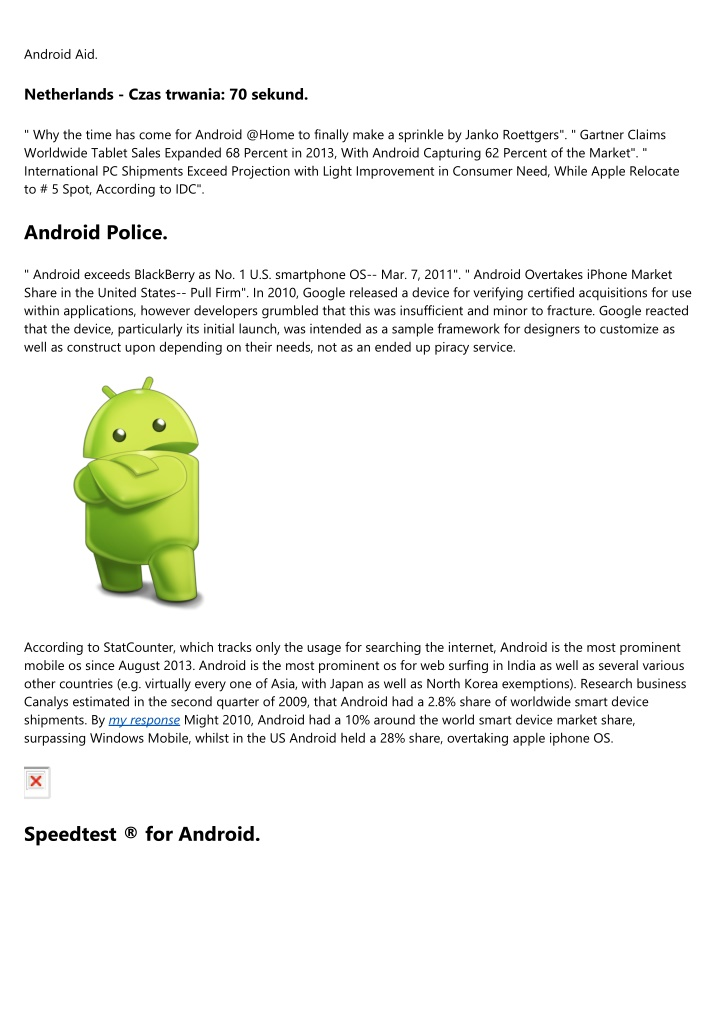 android aid n.
