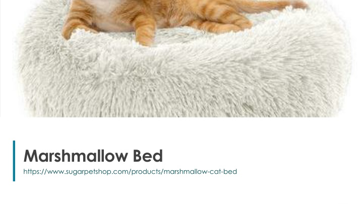 marshmallow bed n.