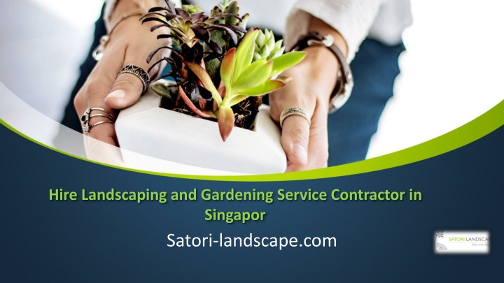 hire landscaping and gardening service contractor in singapor n.
