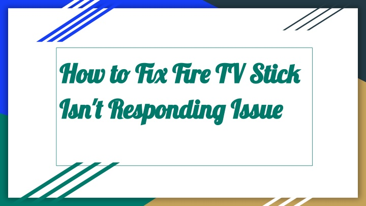 how to fix fire tv stick how to fix fire tv stick n.