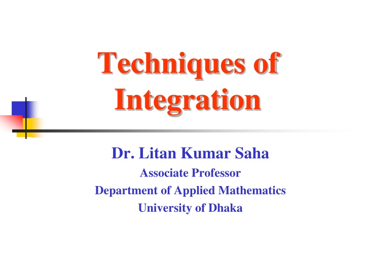 techniques of integration n.