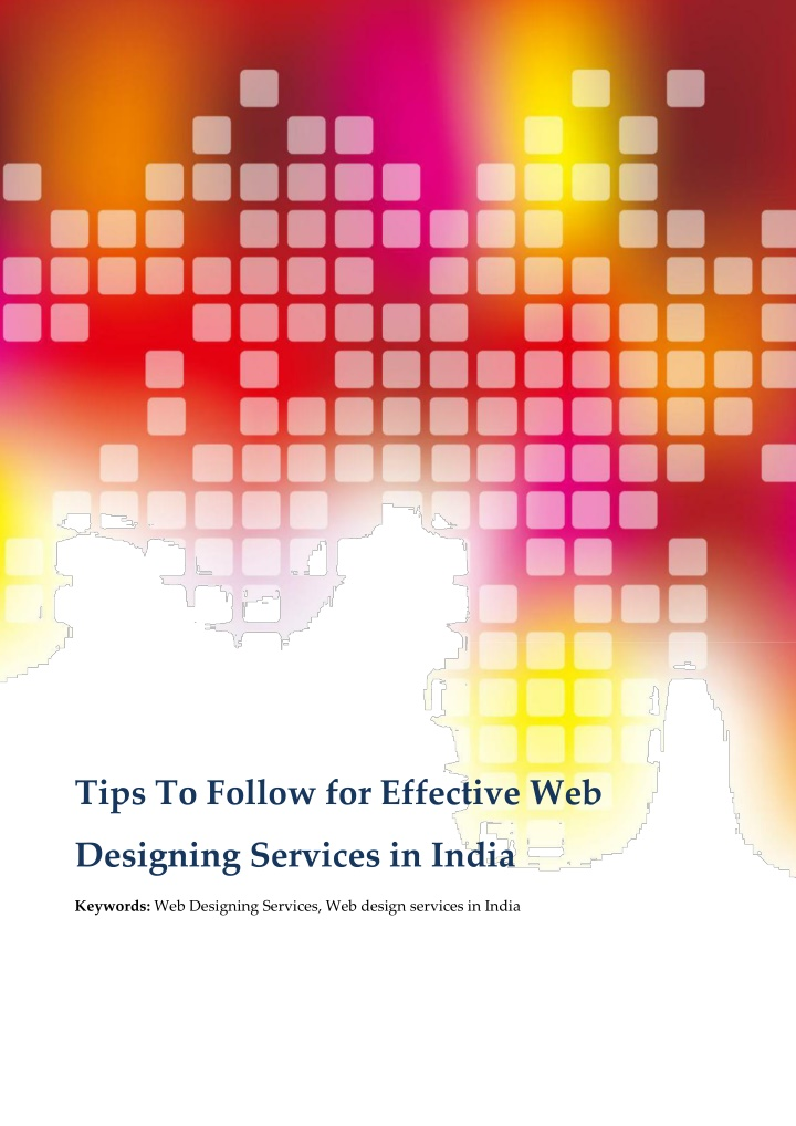 tips to follow for effective web n.