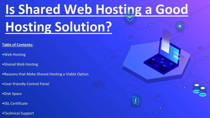 Is Shared Web Hosting a Good Hosting Solution?
