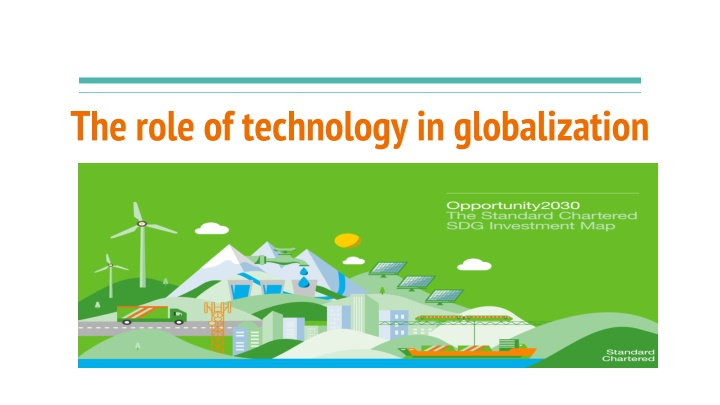 the role of technology in globalization n.