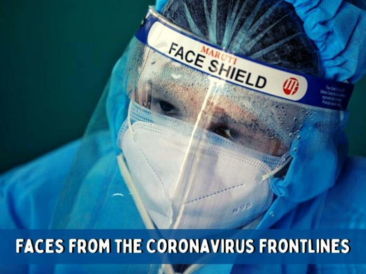 faces from the coronavirus frontlines n.