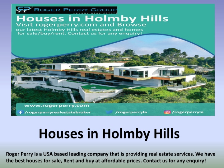 houses in holmby hills n.