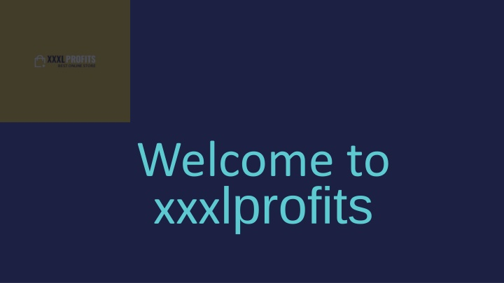 welcome to xxx lprofits n.