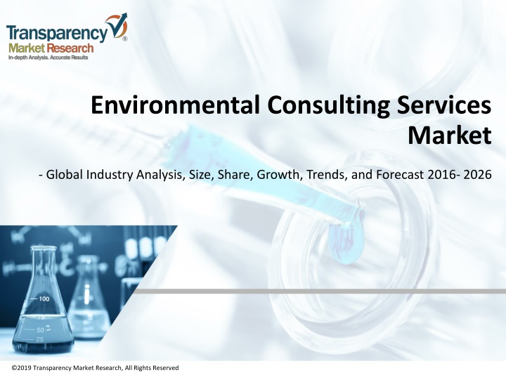 environmental consulting services market n.