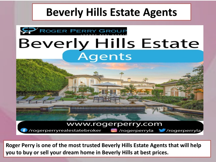 beverly hills estate agents n.