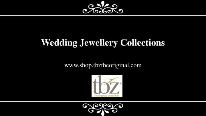 wedding jewellery collections n.