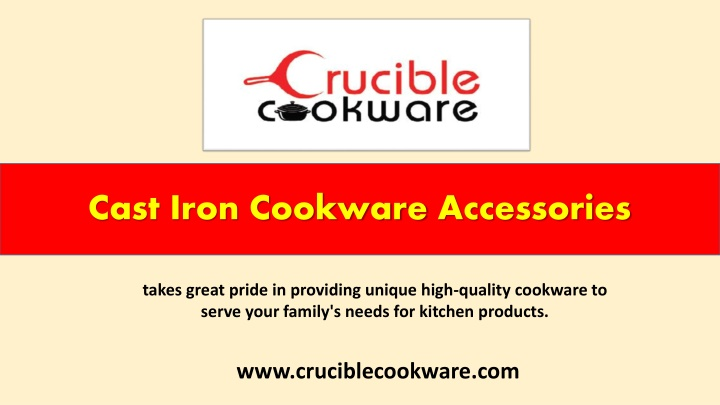 cast iron cookware accessories n.