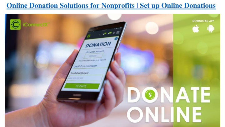 online donation solutions for nonprofits n.