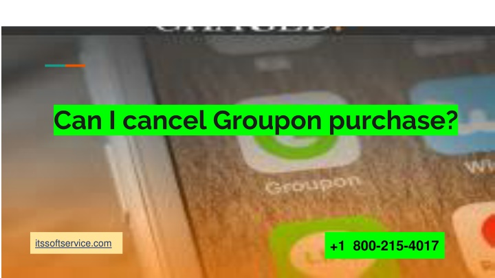can i cancel groupon purchase n.