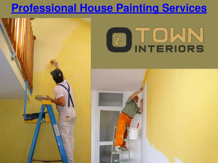 professional house painting services n.