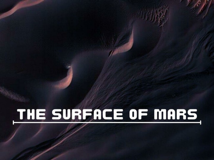 the surface of mars n.