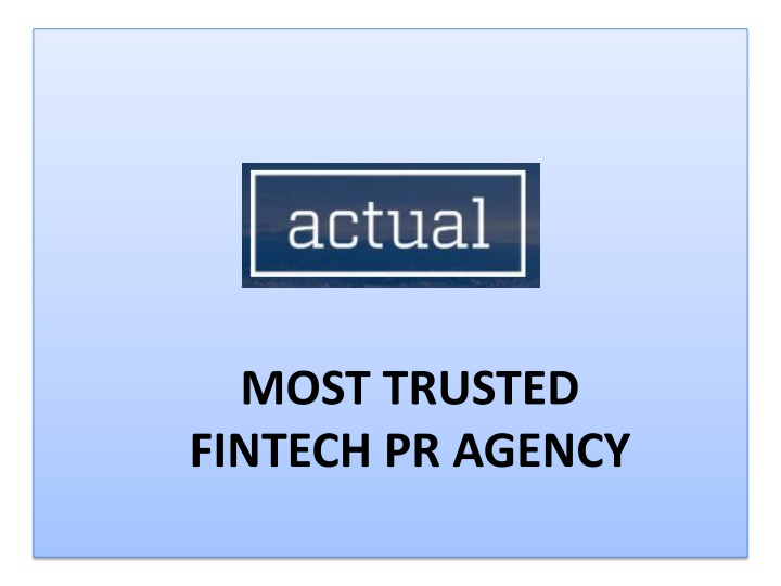 Get the Best fintech PR agency for your Business