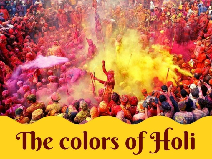 the colors of holi n.