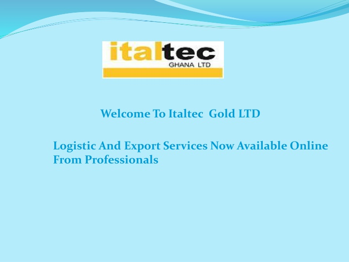 welcome to italtec gold ltd n.